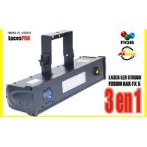 Adj Fusion Fx Bar 5 Laser Led Strobo // Mira El Video!!!