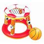 Set Basketball Inflable Para Piscina Playa Agua Futuroxxi