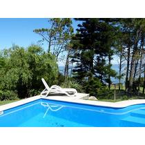 Casa De 3 Amb. Frente Al Mar - Con Piscina - Punta Ballena