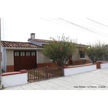 Alquilo Casa Por Temporada A 400m Del Mar Y Sobre Av Paloma.