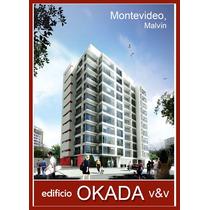 Edif. Okada - Malvín - Apartamento 1 Dormitorio A Estrenar