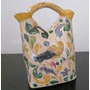 Botijo Porron Adorno Antiguo Anfora Ceramica Italiana