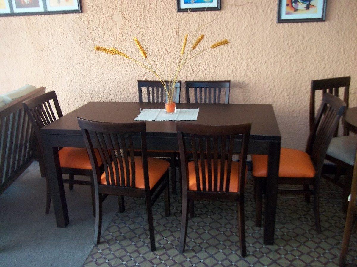 mesa de comedor mas 6 sillas