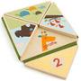 Puzzle De Números Y Animales En Madera Para Bebe Skip Hop