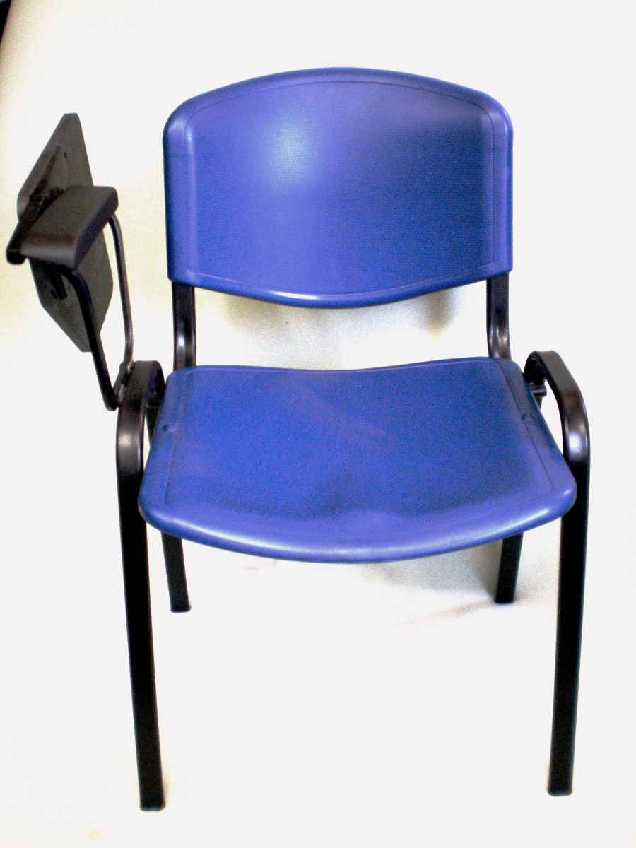 Pin silla con pupitre y parrilla escolar liceal for Silla universitaria novaiso