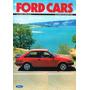 Ford Escort Xr3 - Autos Clásicos - Lámina 45 X 30 Cm.