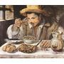 Hombre Comiendo Judías - Annibale Carracci - Lamina 45x30cm