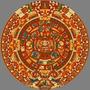 Calendario Maya - Piedra Del Sol Mexico - Lamina 45 X 30 Cm.
