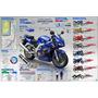 Moto Suzuki Detalles En Ingles - Lamina 45 X 30 Cm.