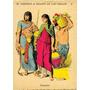 Lámina 45 X 30 Cm. - Historia Del Vestido 02 - Egipcios