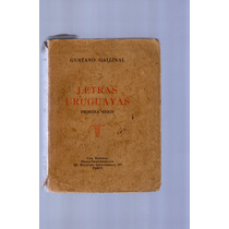 Gustavo Gallinal- Letras Uruguayas