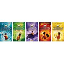 Pack Percy Jackson Los 5 Libros / Riordan (envíos)