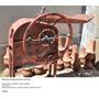 Antigua Máquina Desgranadora De Maíz, En Hierro Y Chapa