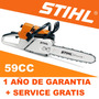 Motosierra Stihl Ms 361 59cc Para Tala De Forma Profesional!