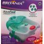 Hidro Masajeador De Pies Aqua Foot Britania 7 Accesorios