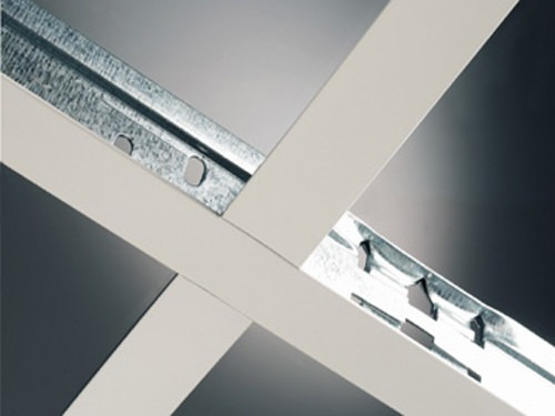 Materiales para cielorrasos de pvc y desmontables for Perfiles techo desmontable
