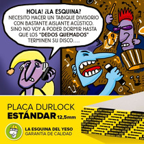 Placa De Yeso Estándar 12,5mm (iva Inc. Con 20% Off)