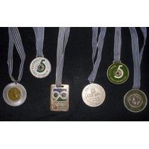 Lote De 6 Medallas Deportivas.