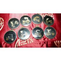 Monedas Para Llavero Con Motos Grabadas Diferentes Diseños