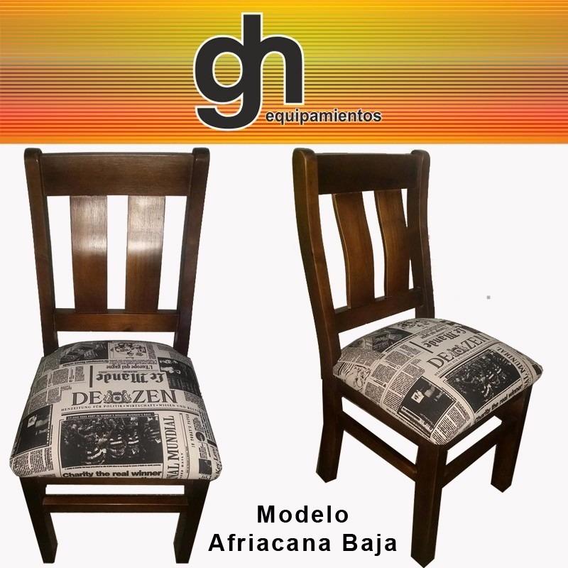 Mesa con sillas para cocina y comedor 100 en madera for Sillas con apoyabrazos para comedor
