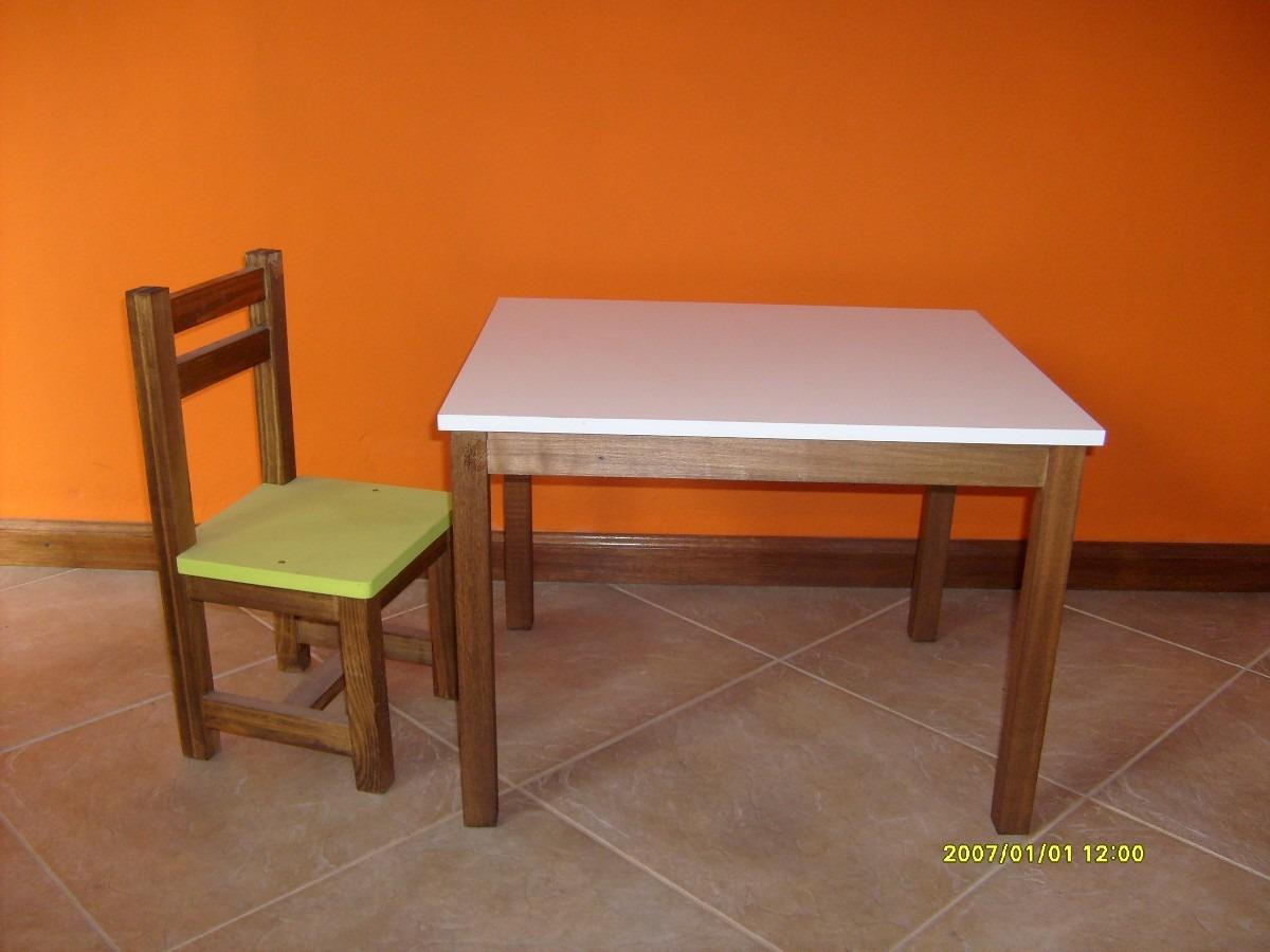 Mesas de madera para ni os imagui - Mesas pequenas para ninos ...