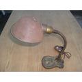 Lampara Antigua Original Raro Modelo De Hierro Mirala Consul