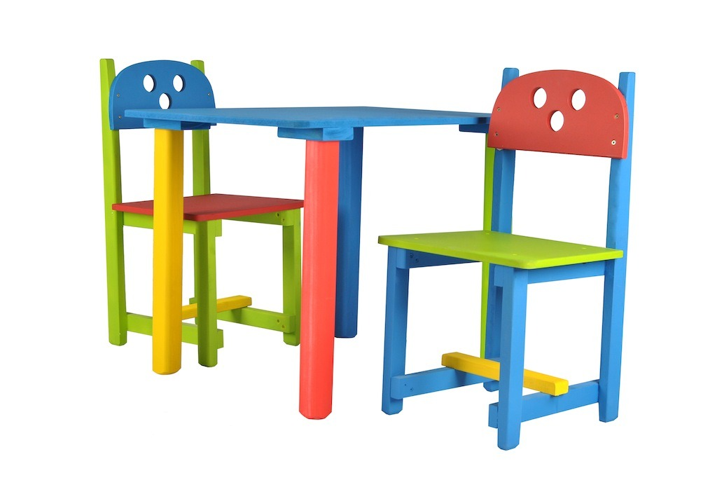 Mesa y sillas para ni os 330 00 en mercadolibre pictures for Mesa y sillas ninos