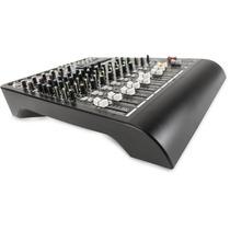 Rcf Consola Mixer Audio 12 Can C/fx L-pad12cx, Dj Made Italy