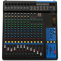 Consola Yamaha Mg16 12ch (10 Mic+2 Line St)