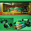Formula 1 Auto F1 1:24 Beneton Ford Nelson Piquet 1991 Italy