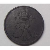 Dinamarca Moneda En Zinc Valor 5 Ore Año 1960 Leer
