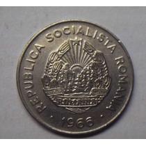 República Socialista De Rumania 25 Bani 1966 Dominio De Urss