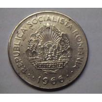 República Socialista De Rumania 1 Leu 1966 Dominio De Urss