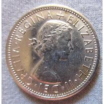 Antigua Moneda Inglaterra 2 Shillings 1966