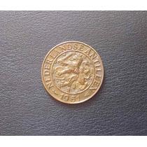 Antillas Holandesas - 1 Cent - 1961