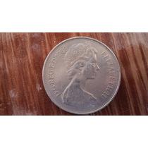 Inglaterra. 10 New Pence. 1969