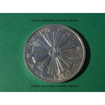 Cg 1000 Pesos 1969 25g Moneda Uruguay Plata Fao Sin Lagrima