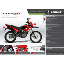 Moto Ztt Zr 125 Cc Zanella 0km 2015