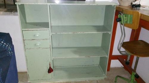 Mueble Biblioteca Aparador Vintage  $ 5000,00 en MercadoLibre