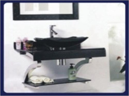 Mueble Para Baño Aereo En Vidrio Con Valvula Y Sifon!!  U$S 460,00