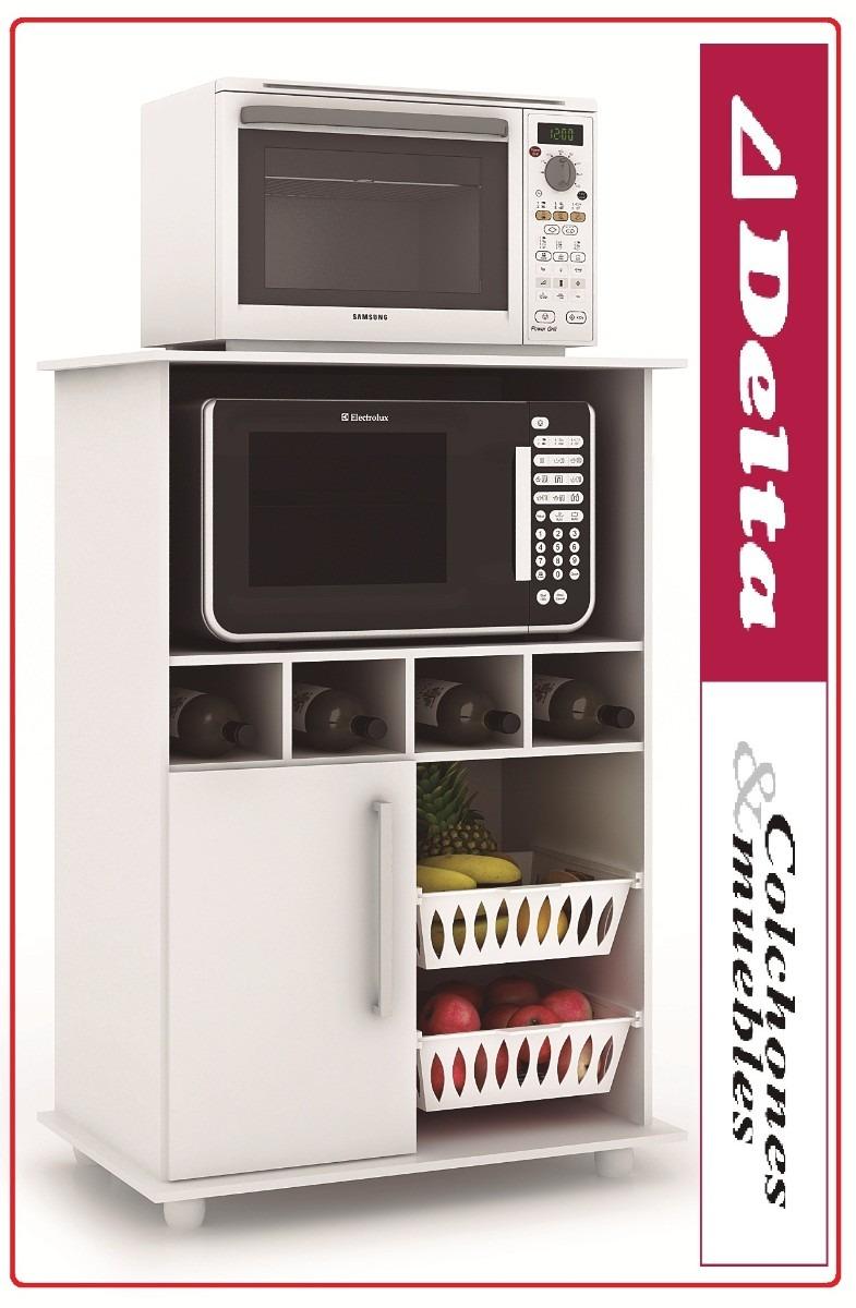 Mueble para microondas frutero alacena kit de cocina - Muebles alacenas para cocina ...