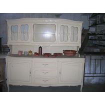 Mueble Antiguo Provenzal En Pino