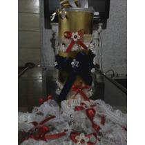 Ligas Boda Novias Cotillon Bordadas A Mano Muy Finas $ 65