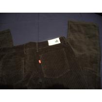 Jeans/vaquero Levis Negro De Pana