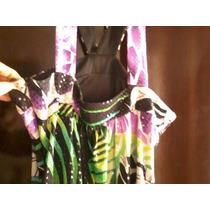 Vestido Original Estampado Colorido Noche De La Nostalgia