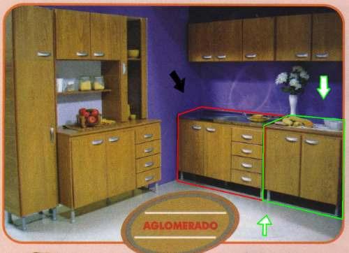 Mueble Bajo Mesada Para Lucir Su Cocina  $ 1190,00 en MercadoLibre
