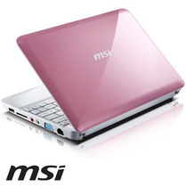 Netbook Msi Rosa Super Oferta Hasta Agotar Stock