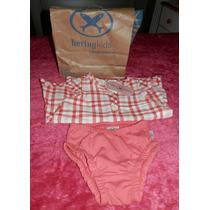 Conjunto Hering Vestido Con Bombacha-ropa Beba 9-12 Meses