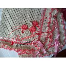 Rebozo En Hilo O Lana Para Bebe Confeccionado En Crochet