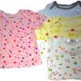 Set De 12 Camisetas De Beba Y Bebe, Excelente Algodon